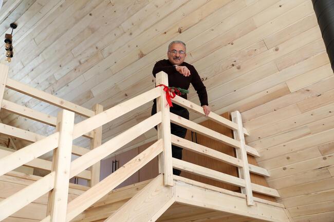 Çambaşı Yaylası'ndaki bungalov evlere ilgi büyük