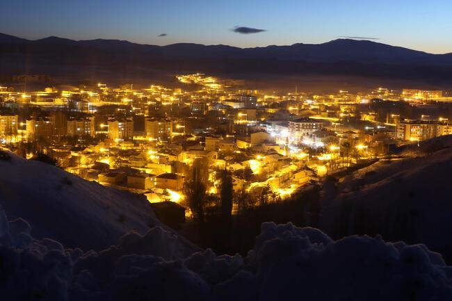 Hava sıcaklığı eksi 22! İşte Türkiye'nin en soğuk yeri
