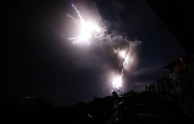 Filipinler'deki yanardağda ikinci patlama: 52 deprem oldu, binlerce kişi tahliye ediliyor