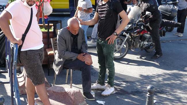 Son dakika... Beyoğlu'da engelli kişiye darp!