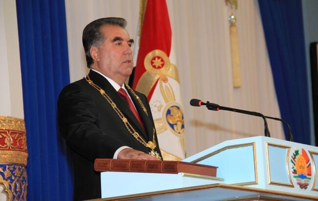 Son dakika... Tacikistan'da İmamali Rahman yüzde 90,92 oyla 5. kez cumhurbaşkanı seçildi