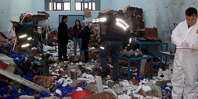 Sakarya'da patlama: 1 ölü, 4 yaralı