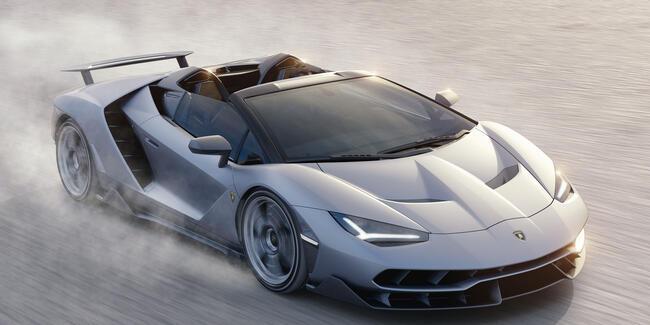 20 adet üretilen Lamborghini'nin tamamı satıldı