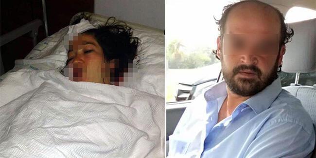 Doğum yapan eşini hastanede bıçakladı