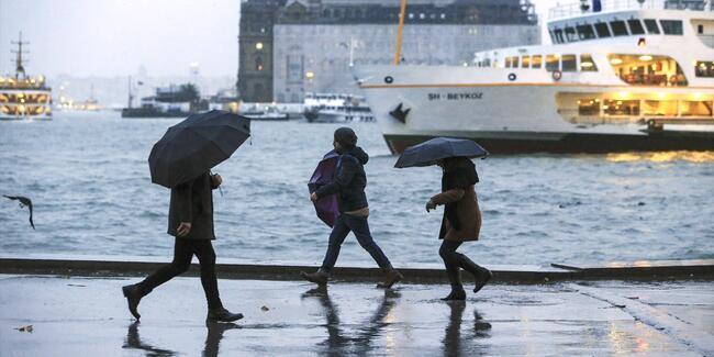 Hava durumu 5 Mayıs: Meteoroloji saat verdi, yağmur gidiyor!