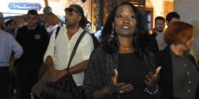 ABD'li şarkıcı Della Miles Konya'da