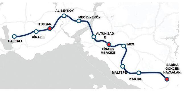 İstanbul'a hızlı metro... Halkalı-Sabiha Gökçen Havalimanı arası 55 dakikaya inecek