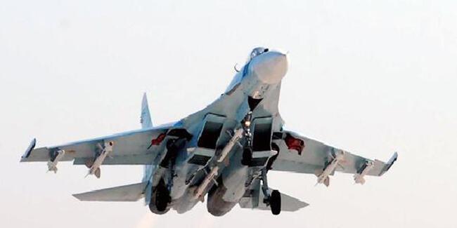 Rus savaş uçağı, Alman keşif uçağını engelledi