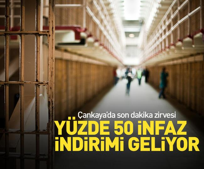 Son dakika: Mahkumlara %50 infaz indirimi yolda