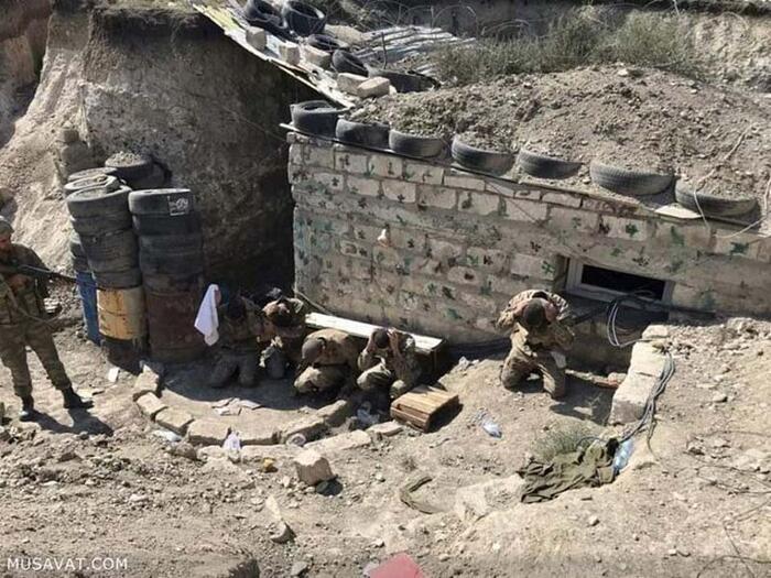 Son dakika... Azerbaycan Ordusu, Dağlık Karabağ'da bir grup Ermeni askeri esir aldı - Dünyadan Haberler