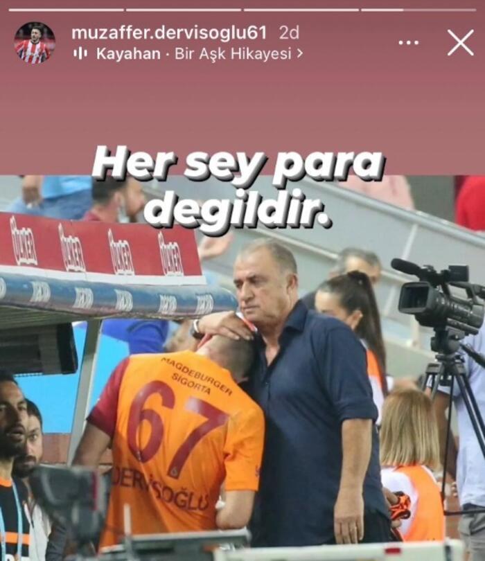 Halil Dervişoğlu'nun babasından Fenerbahçe'ye gönderme 14