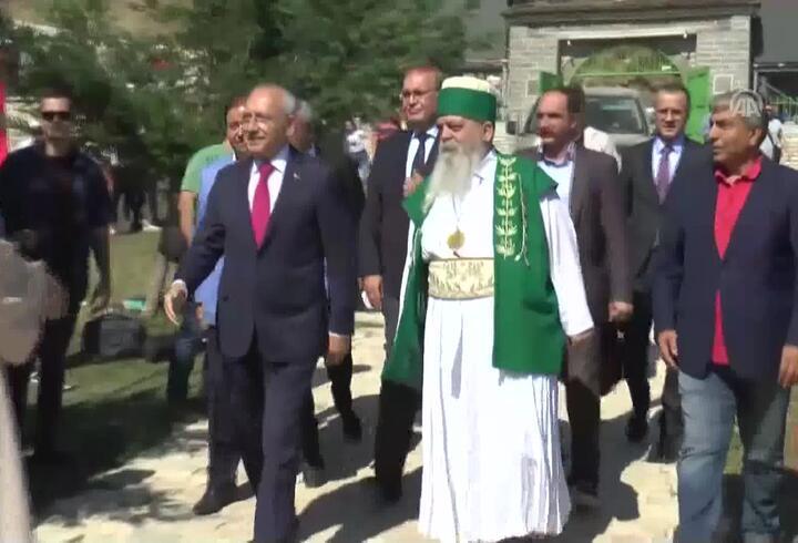 Kılıçdaroğlu Arnavutluk'taydı