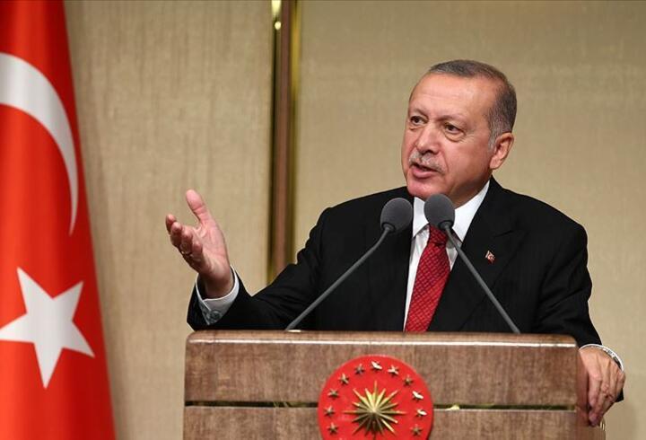 Cumhurbaşkanı Erdoğan'dan ABD'ye güvenli bölge mesajları