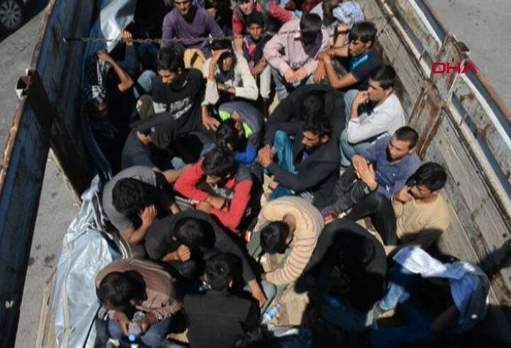 Adana'da 61 göçmen yakalandı