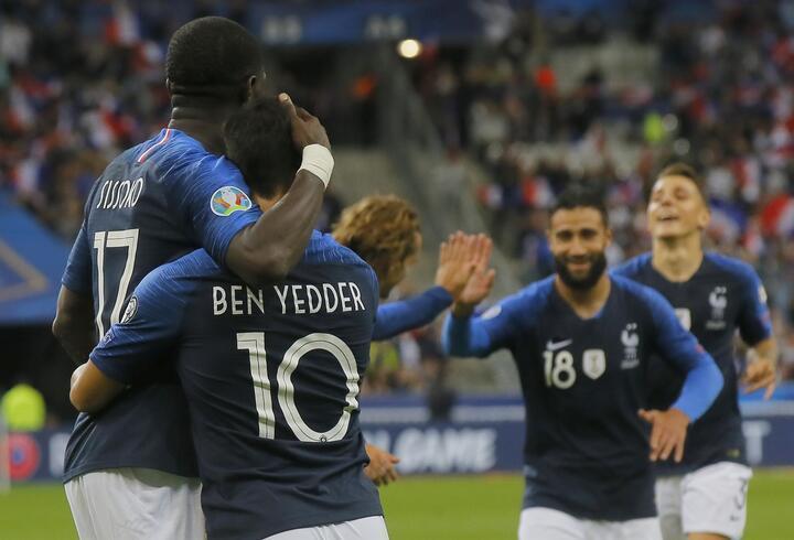 Fransa'dan Andorra'ya 3 gol