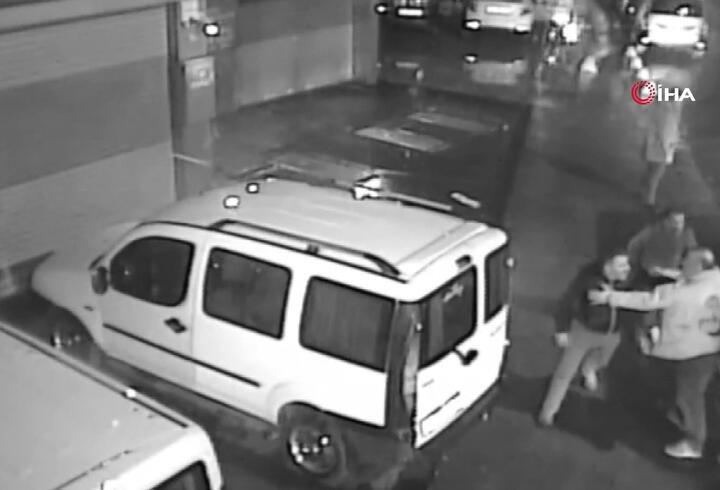 Tüyler ürperten taksici cinayeti kamerada