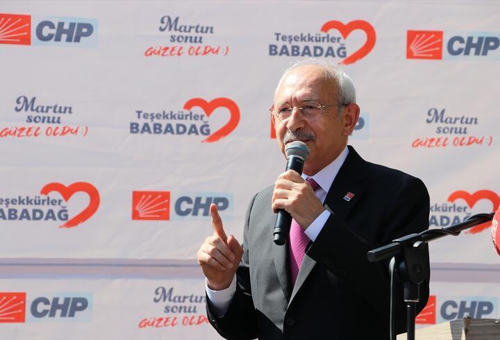 Kılıçdaroğlu:  Bölgeyi barış havzasına dönüştürebiliriz