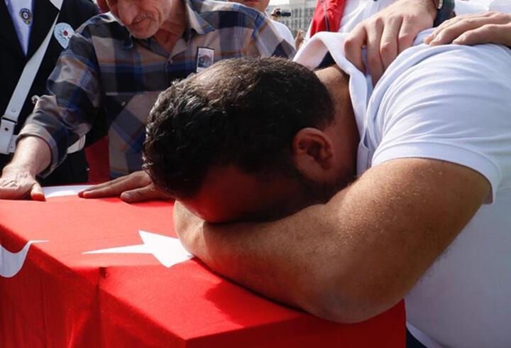 5'i çocuk 7 sivil şehit gözyaşları ile uğurlandı
