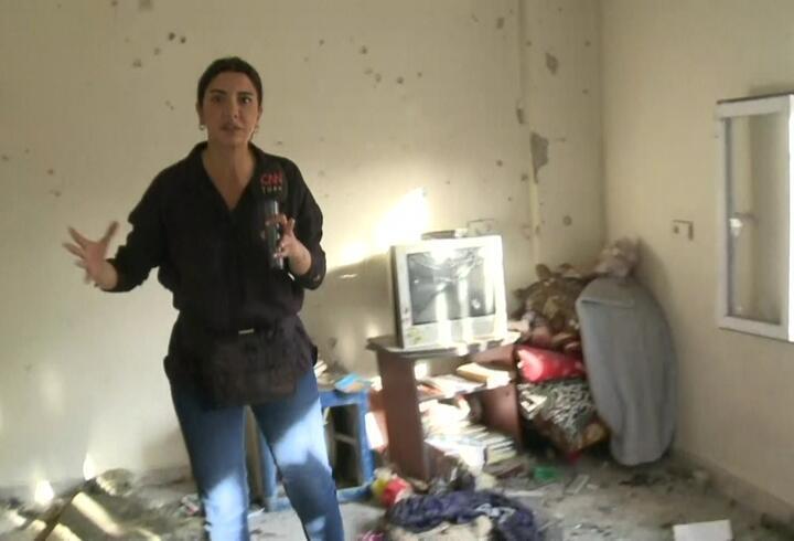 CNN TÜRK Muhammed'in şehit düştüğü evde