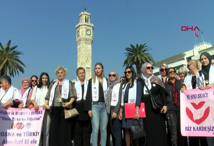Srebrenica Anneleri'nden 'Diyarbakır Anneleri'ne destek