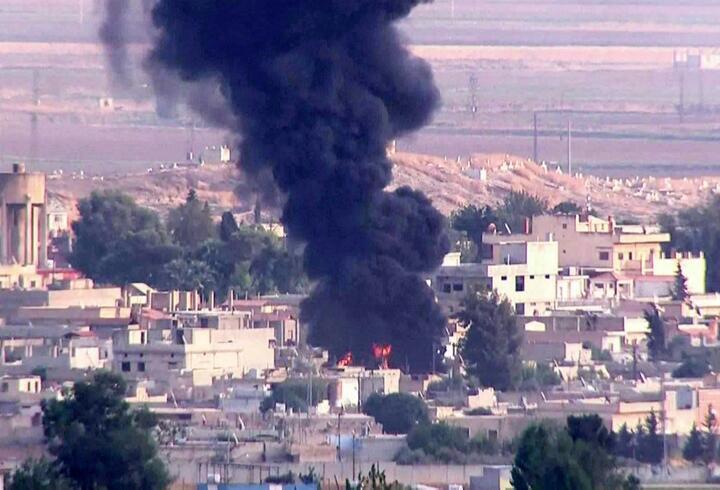 Resulayn'da sıcak dakikalar... Teröristlerin mühimmat deposu bombalandı
