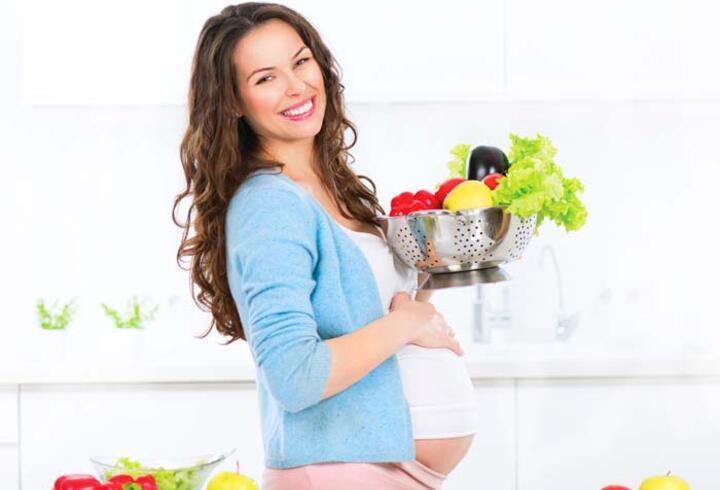 Hamilelikte nasıl beslenmeli?