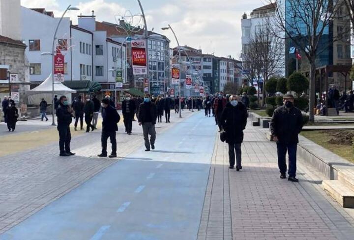 Bolu'da 2 kat artan vaka sayıları endişeye neden oldu