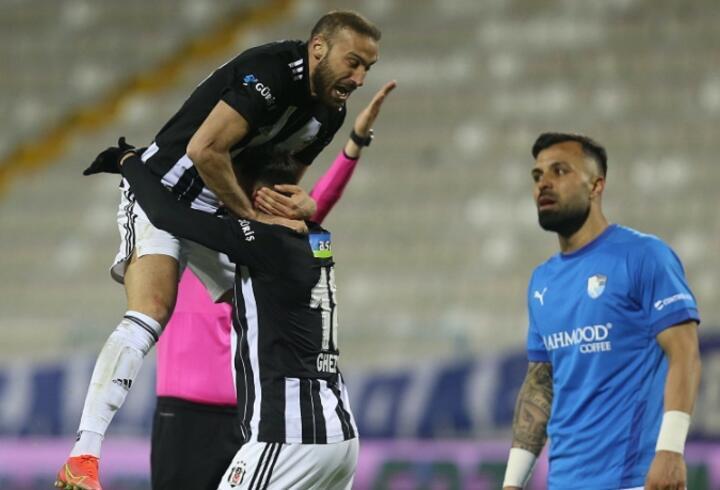 Beşiktaş'tan Erzurumspor'a 4 gol