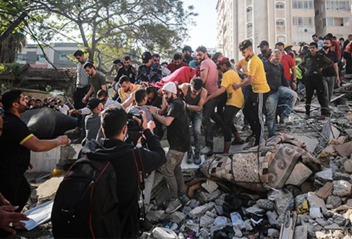 İsrail'in Gazze'ye saldırıları sürüyor: Can kaybı 192'ye yükseldi
