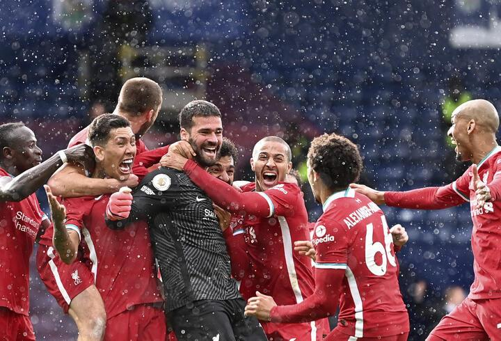 Alisson'dan tarihi gol! West Bromwich 1-2 Liverpool MAÇ ÖZETİ