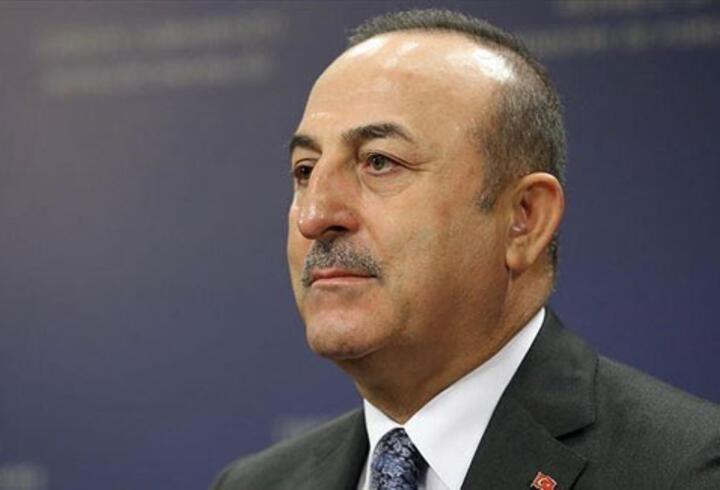 Bakan Çavuşoğlu'ndan 'Filistin' görüşmeleri