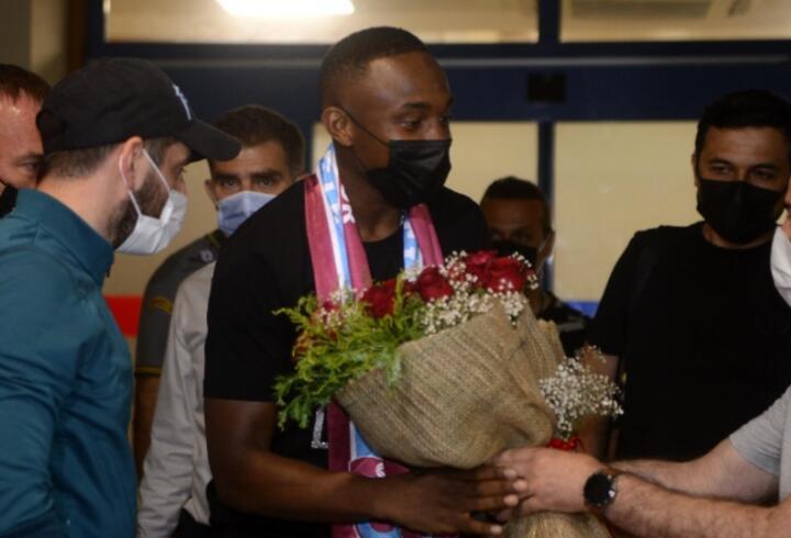 Fode Koita Trabzon'a geldi