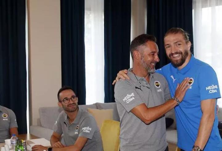 Son dakika... Fenerbahçe'de Vitor Pereira ve Caner Erkin buluştu!