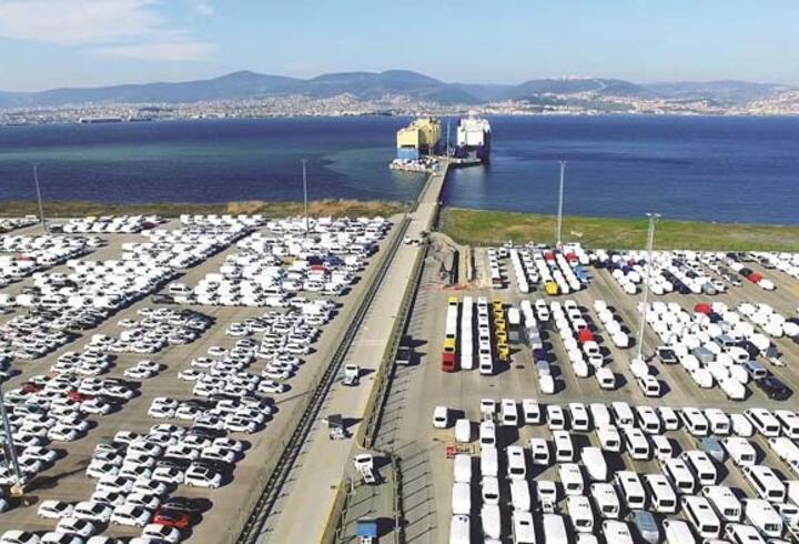 Otomotiv ihracatı haziranda 2,3 milyar dolar oldu