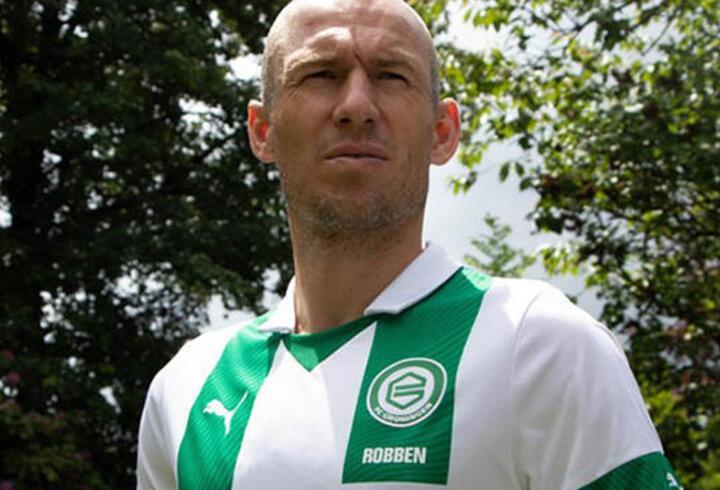 Arjen Robben futbolu bıraktığını duyurdu