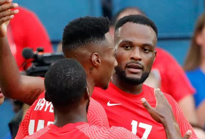 Cyle Larin'den Haiti kalesine 2 gol
