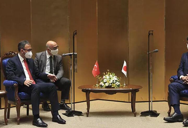 Gençlik ve Spor Bakanı Kasapoğlu, Japon Bakan Hagiuda ile görüştü