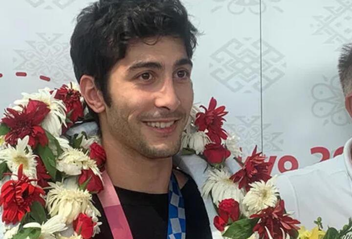Olimpiyat madalyalı sporcu Hakan Reçber yurda döndü