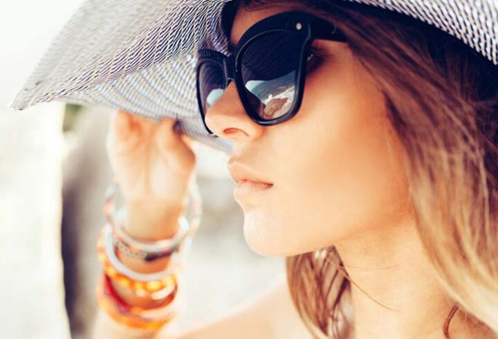 Güneş gözlüğü alırken bunlara dikkat! Sağlığınızdan olmayın