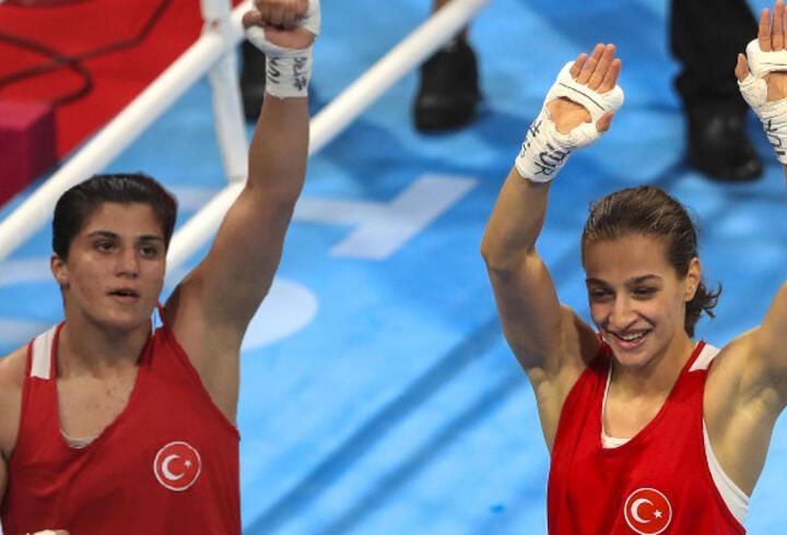 Son dakika... Buse Naz Çakıroğlu ve Busenaz Sürmeneli finale kaldı!