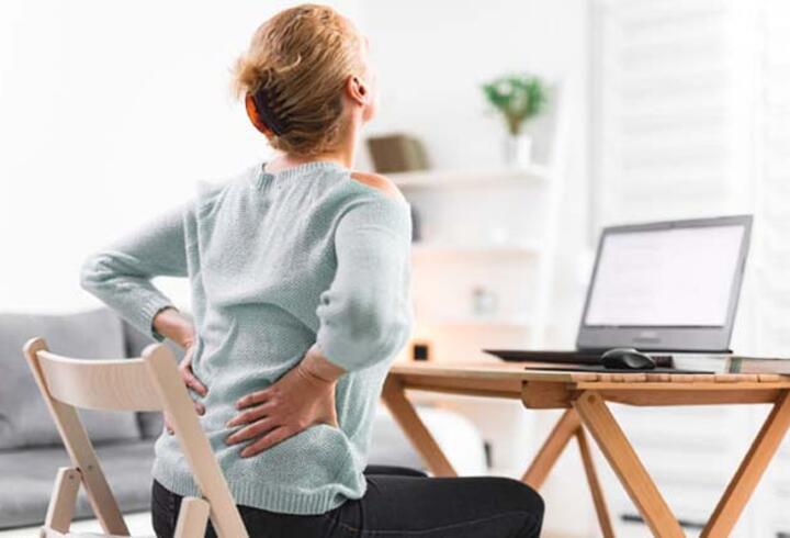 Bel ve boyun ağrısı şikayetleri arttı