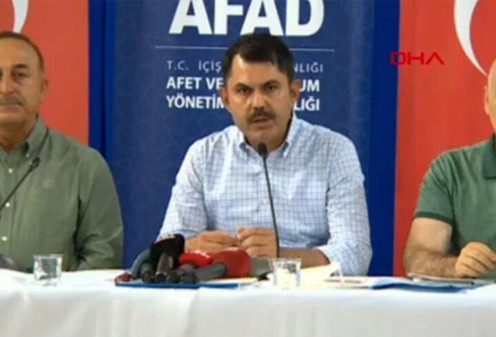 Son dakika... Bakanlardan Antalya'da yangınlara ilişkin açıklamalar