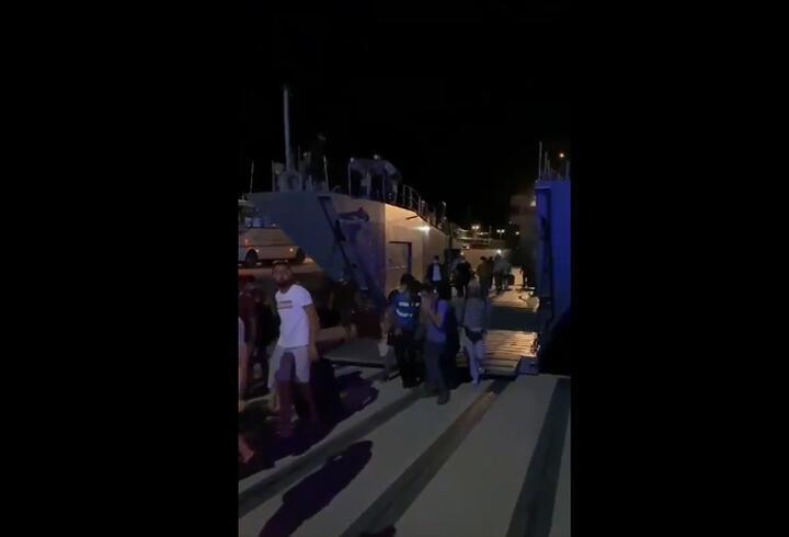 SON DAKİKA: MSB'den Milas Ören'de tahliye açıklaması