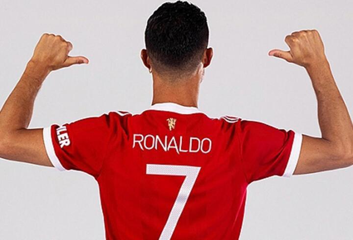 Manchester United'da 7 numaralı forma yeniden Ronaldo'nun