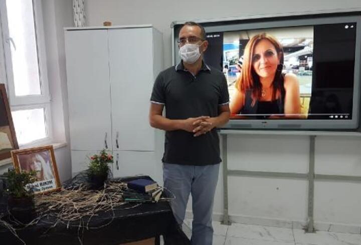 Kazada hayatını kaybeden Nihal öğretmenin sınıfında hüzün