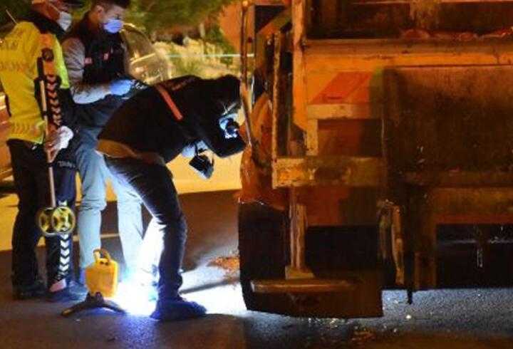 Yolun karşısına geçerken çöp kamyonunun altında kalan kadın öldü
