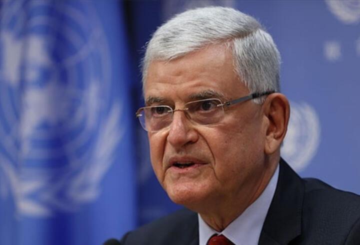 """Bozkır'dan """"etkin bir BM için Genel Kurulun güçlendirilmesi"""" mesajı"""
