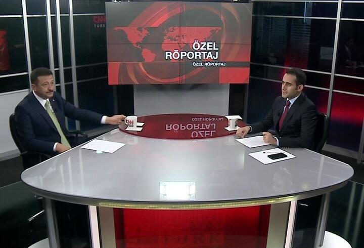 AK Partili Hamza Dağ'dan CNN TÜRK'te önemli açıklamalar