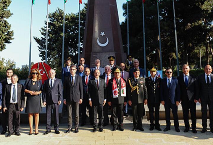 Bakü'nün kurtuluşunun 103. yılı dolayısıyla Türkiye'nin Bakü Büyükelçiliği'nde etkinlik düzenlendi