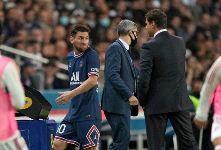 Lionel Messi şaşkına uğradı
